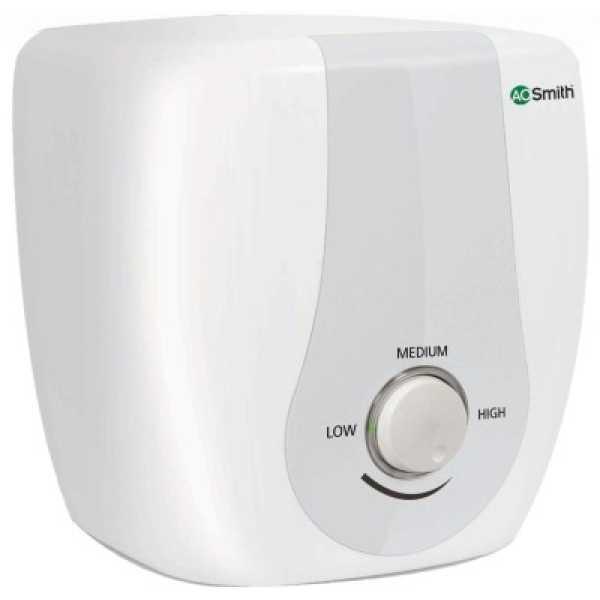AO Smith HSE-SAS 15 Litres 2KW Storage Water Heater - White
