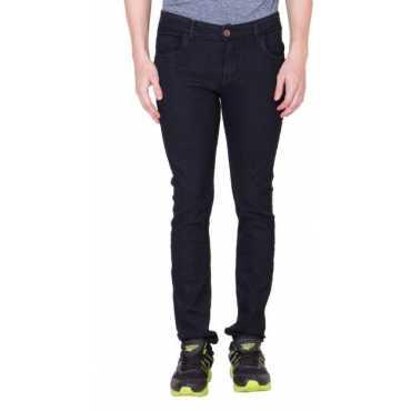 maxxone Regular Men's Black Jeans