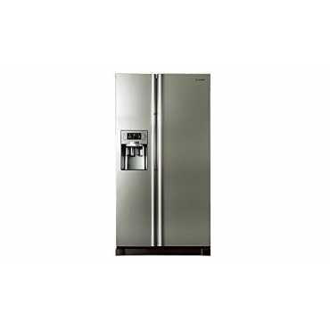 Samsung RS21HUTPN1 585 Litres Side By Side Door Refrigerator - Platinum