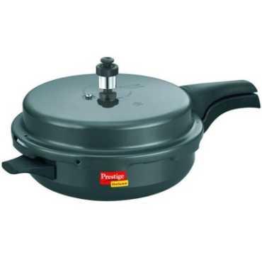 Prestige Hard Anodised Deluxe Plus Junior Aluminium 3 L Pressure Cooker (Induction Bottom, Outer Lid)