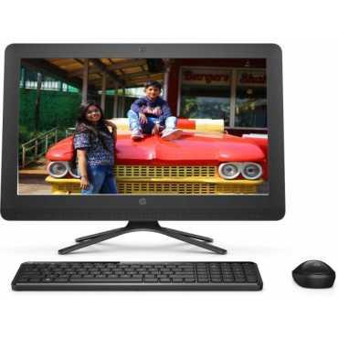 HP 20-c205il (Celeron Dual Core,4GB,1 TB,DOS) All In One Desktop - Black