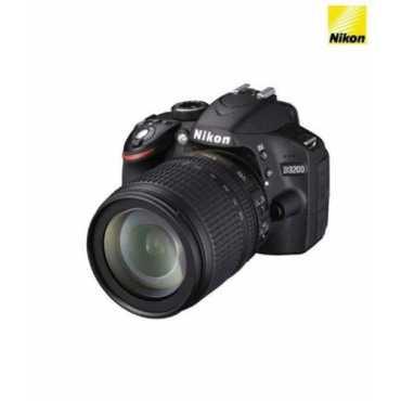 Nikon D3200 (with AF-S 18-105mm VR Kit Lens) DSLR - Red