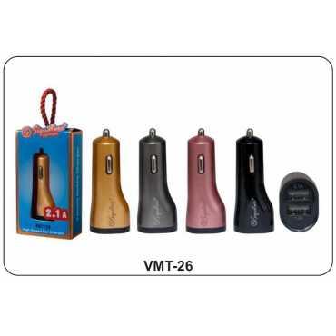 Signature VMT-26 2.1 Amp Dual USB Car Charger