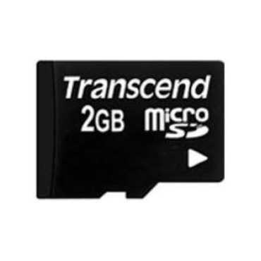 Transcend TS2GUSDC 2GB Class 2 MicroSD Memory Card