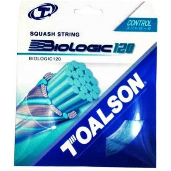 Toalson Biologic Squash Badminton String 10 m - White