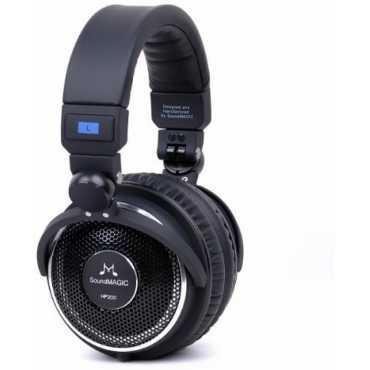 SoundMAGIC HP 200 On Ear Headphones - Black