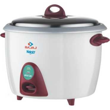 Bajaj Majesty RCX28 Rice Cooker - White