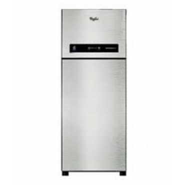 Whirlpool IF 355 ELITE 3S 340L Double Door Refrigerator (Alpha Steel) - Steel   Grey