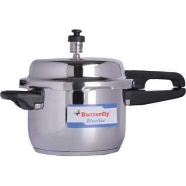 Butterfly Blueline Stainless Steel 5 L Pressure Cooker - Steel