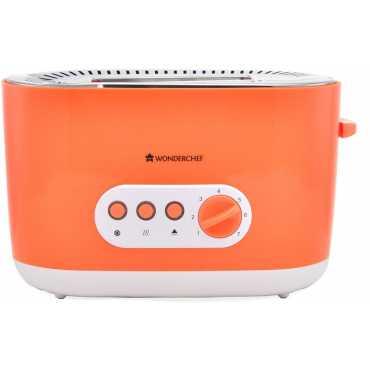 Wonderchef 63151722 780W Pop Up Toaster - Orange