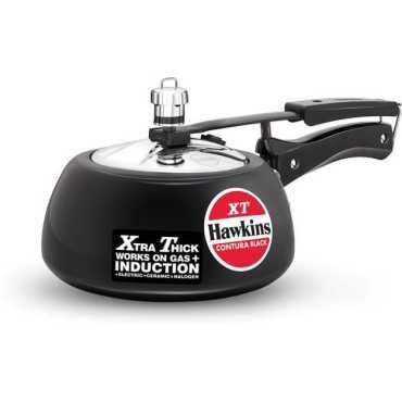 Hawkins Contura Black XT 2 L Pressure Cooker Hard Anodized