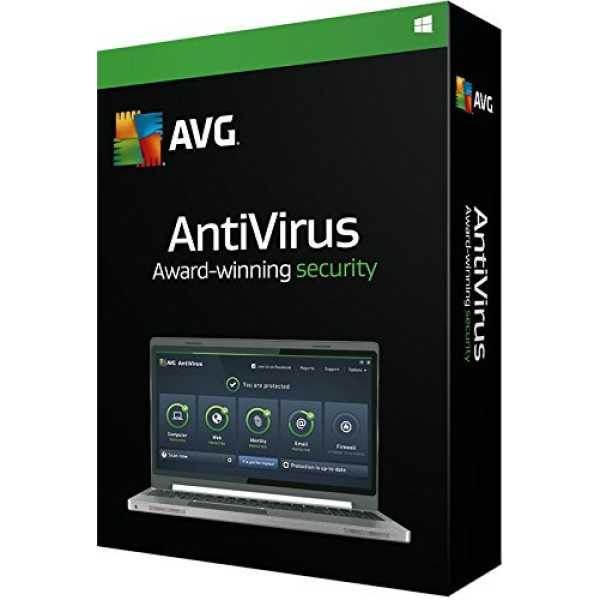 AVG AntiVirus 2016 1PC 1Year