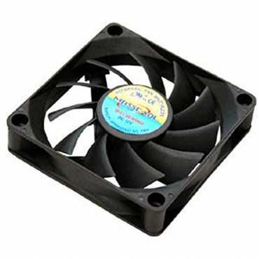 Masscool FD07015B1M3/4 70mm Cooling Fan - Black