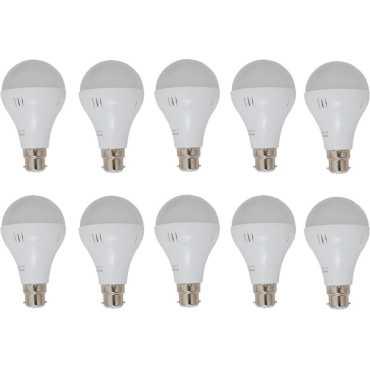 Ryna 5W LED Bulb (White, Pack of 10)