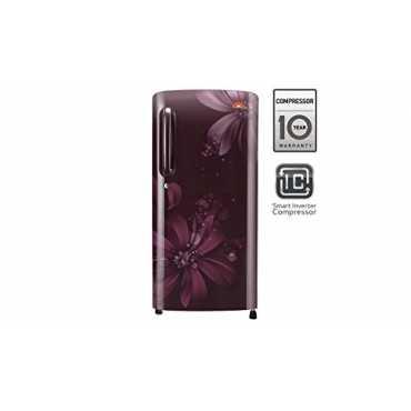 LG GL-B201ASAI 190Ltr 5S Single Door Refrigerator (Scralet Aster)