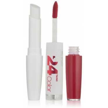 Maybelline New York Superstay 24, 2-step Lipcolor, Timeless Rose 090 (Red61)