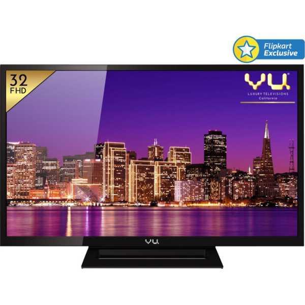 Vu 32D6545 32 Inch Full HD LED TV - Black