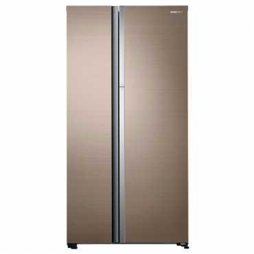 Samsung RH62K60B77P/TL 674 L Inverter Frost Free Side By Side Refrigerator - Gold