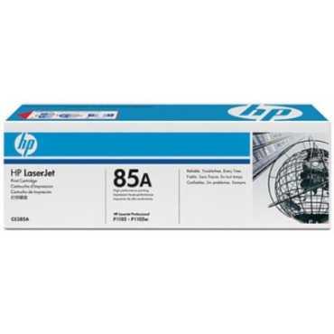 HP 85A Black LaserJet Toner Cartridge - Black
