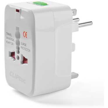 CLiPtec GZJ130WH Universal Plug Adaptor
