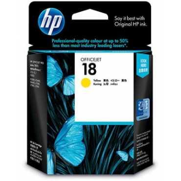 HP 18 Yellow Ink Cartridge - Yellow