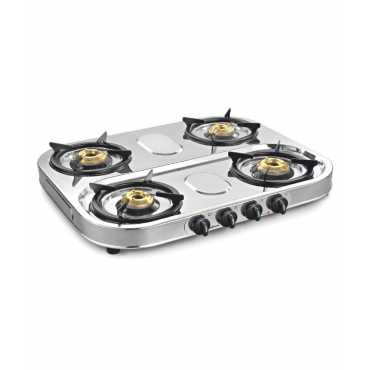 Sunflame Spectra Stainless Steel Manual Gas Cooktop (4 Burners)