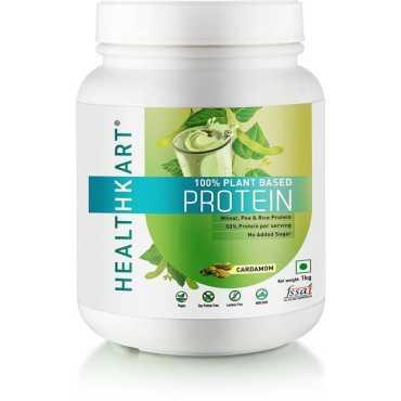 Healthkart 100 Plant Based Protein 1kg Cardamom