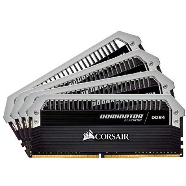 Corsair Dominator Platinum 32GB (4x8GB) DDR4 C16 Desktop Memory