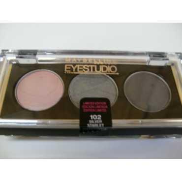 Maybelline Eyestudio Eye Shadow (102 Silver Starlet) - Silver