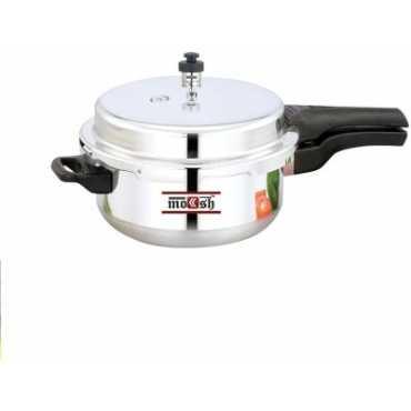 Moksh Junior Deep Pan With Lid 4.5 L Pressure Cooker