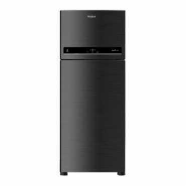 Whirlpool IF 480 ELITE 3S 465L Double Door Refrigerator (Alpha Steel) - Black | Steel