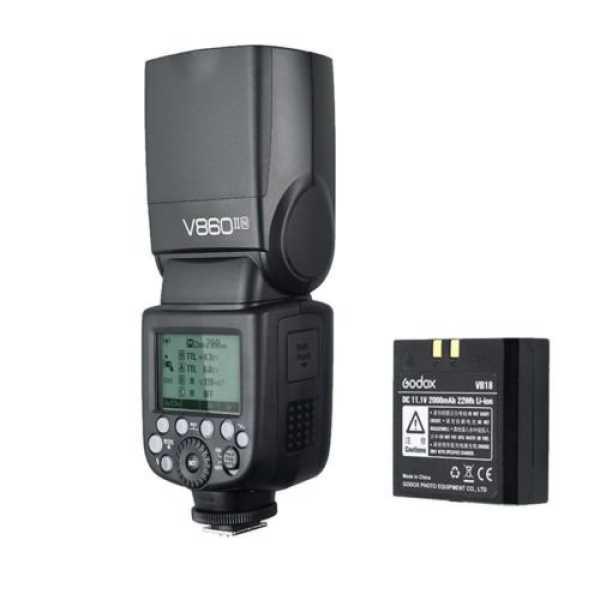 Godox V860II-N Kit i-TTL Wireless Speedlite Flash (For Nikon)