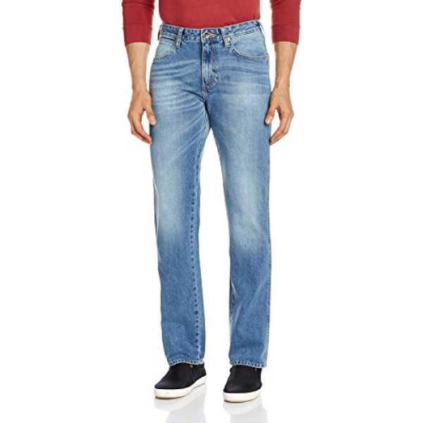 Men's Millard Relaxed Fit Jeans(8907222418212_WRJN5953_28W x 33L_Indigo)