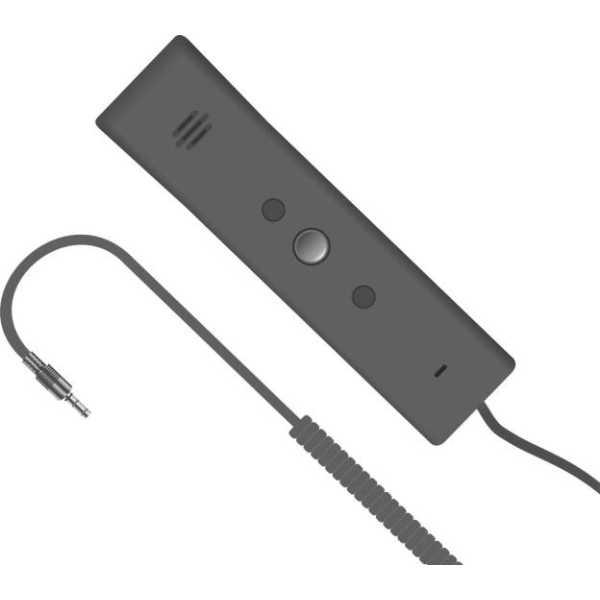 Portronics  POR-911  Phoni 3 Retro On the Ear Headset - Grey
