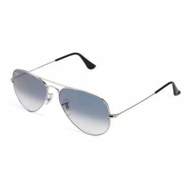 Ray-Ban Gradient Oval Men Sunglasses RB3025 003 3F 58 Gradient Light Blue