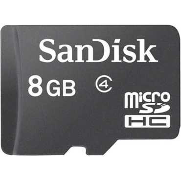 SanDisk 8GB MicroSDHC Class 4 Memory Card - Black