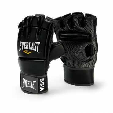 Everlast MMA Kickboxing Gloves - Black