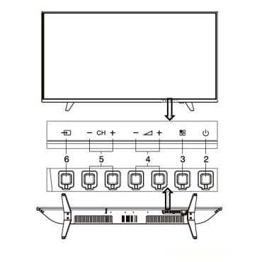 AOC LE40V50M6 61 40 Inch Full HD LED TV