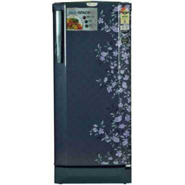 Godrej RD EDGEPRO 210 CT 3.2 210L 3S Single Door Refrigerator (Indigo Floret)