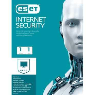 Eset Internet Security 2018 1 PC 1 Year Antivirus