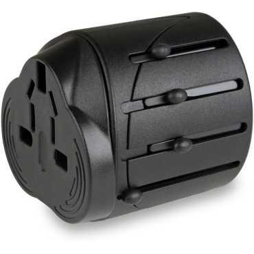 MX Universal Pocket Multi-Plug Worldwide Adapter - Black