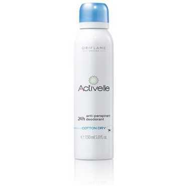 Oriflame Activelle Cotton Dry Deodorant For Unisex