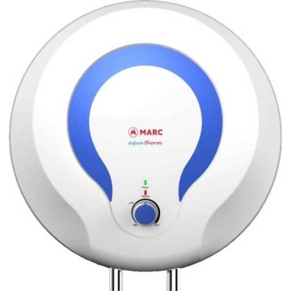 Marc Aqua Therm 10 Litres Storage Water Geyser - White