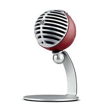 Shure MV5-B-LTG-A Digital Condenser Microphone - Grey | Black