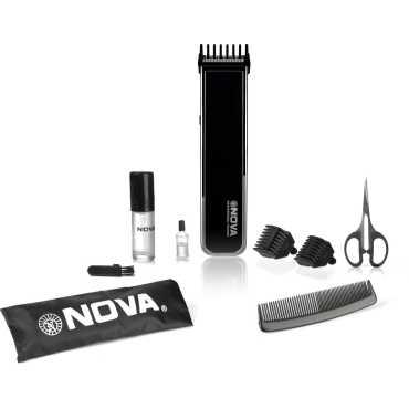 Nova NHT 1055 B Advanced Skin Friendly Precision Trimmer - Blue | Orange | Black
