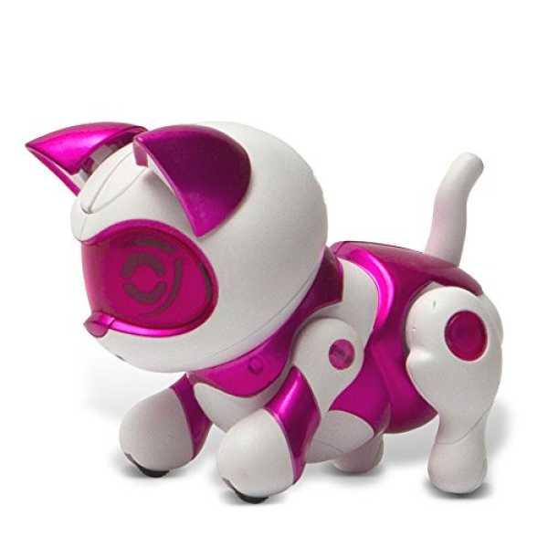 Tekno Newborns Pet Robot Cat, Pink