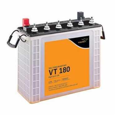 V-Guard VT180 180AH Tall Tubular Inverter Battery