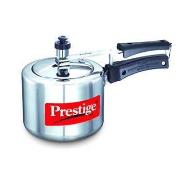 Prestige Nakshatra Aluminium 3 L Pressure Cooker - Silver