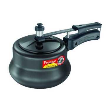 Prestige 20451 Nakshatra Plus Hard Anodised 3 L Pressure Cooker (Inner Lid) - Black