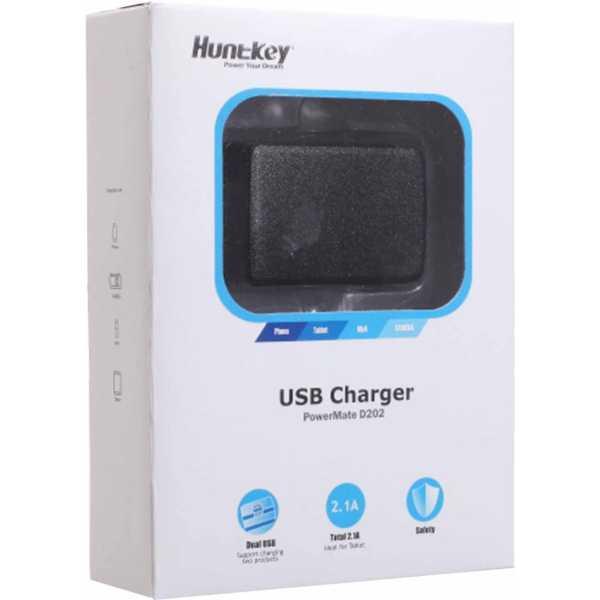 HuntKey 2.1A Dual USB Charger